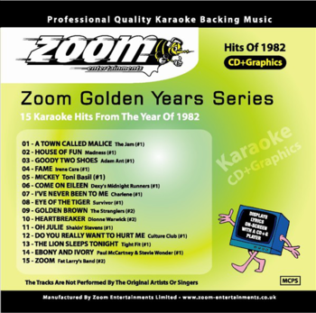 Zoom Karaoke Golden Years 1982 (CD+G)