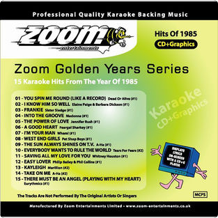 Zoom Karaoke Golden Years 1985 (CD+G)
