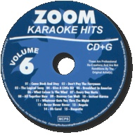 Zoom Karaoke Hits - Volume 06 (CD+G)