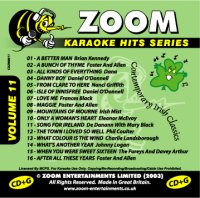 Zoom Karaoke Hits - Volume 11 (CD+G)