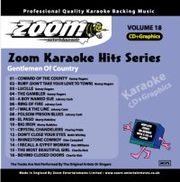Zoom Karaoke Hits - Volume 18 (CD+G)