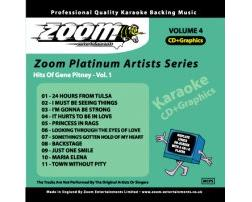 Zoom Karaoke Platinum Artists: Gene Pitney Vol.1 (CD+G)