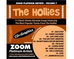 Zoom Karaoke Platinum Artists: Hollies (CD+G)