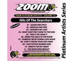 Zoom Karaoke Platinum Artists: Searchers (CD+G)