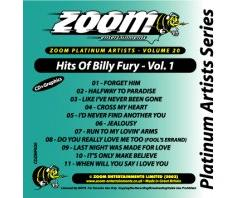 Zoom Karaoke Platinum Artists: Billy Fury Vol.1 (CD+G)