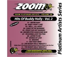 Zoom Karaoke Platinum Artists: Buddy Holly Vol.2 (CD+G)