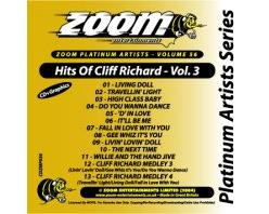 Zoom Karaoke Platinum Artists: Cliff Richard Vol.3 (CD+G)