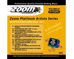 Zoom Karaoke Platinum Artists: Drifters & Billy Ocean Vol.1 (CD+G)