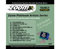 Zoom Karaoke Platinum Artists: Dido (CD+G)
