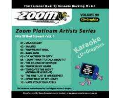 Zoom Karaoke Platinum Artists: Rod Stewart Vol.1 (CD+G)