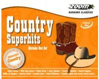 Zoom Karaoke Country Superhits (3 CD+G's)
