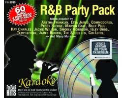 R&B Party Pack (4 CD+G Discs)